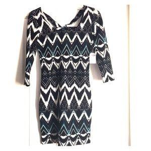 Charlotte Russe 3/4 sleeve dress